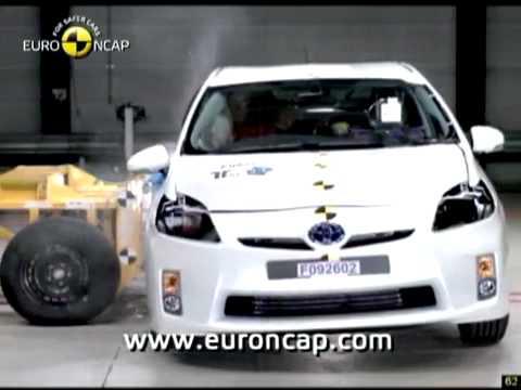 Краш-тест - Toyota Prius 2009 (E-NCAP)