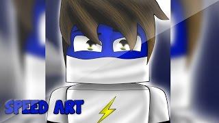 getlinkyoutube.com-Speed Art Skin Cartoon - zShadoW