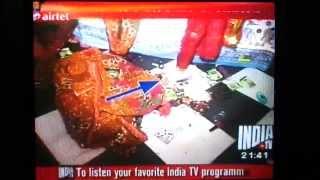 getlinkyoutube.com-Krishna and Radha in Rang Mahal, Varindavan every night