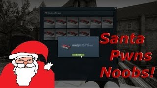 getlinkyoutube.com-Santa Plays Counter-Strike! Gives Gifts!