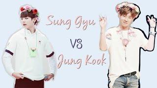 getlinkyoutube.com-MAIN VOCAL BATTLE - SUNG GYU (INFINITE) VS JUNG KOOK (BTS)