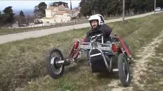 getlinkyoutube.com-A Spider Car !!!!! Crazy French Offroad Vehicle