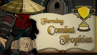 =AQW= Easy Combat Trophies Alone in 2016! (500 Trophies within a day!)