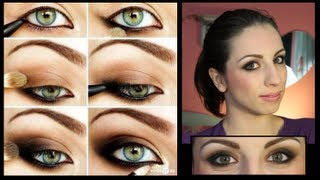 getlinkyoutube.com-Smokey Eyes FACILE! - Make-Up Tutorial