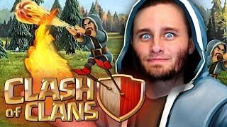 Clash of Clans | Mass Wizards, Hog Riders and P.E.K.K.A's