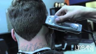 "getlinkyoutube.com-How To | Cut Faux Hawk w/ Tail Bald Fade. ""Dirt Bag Duck Butt"""