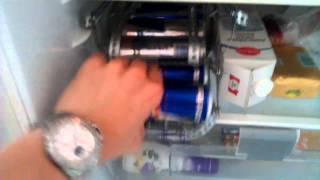 Red Bull Kühlschrank Baby Cooler : Image video red bull man cave mini refrigerator counter top