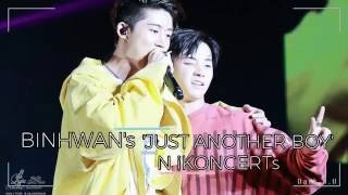 getlinkyoutube.com-BINHWAN'S 'JUST ANOTHER BOY' IN iKONCERTs