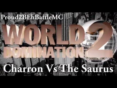 KOTD - The Saurus vs Charron (Proud2BEhBattleMC WD2)