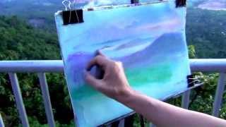 getlinkyoutube.com-Как за 10 минут нарисовать пейзаж