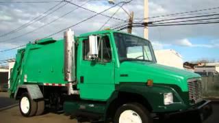getlinkyoutube.com-Garbage Trucks For Sale Refuse Packer Rear Loader Garbage Truck Municipality