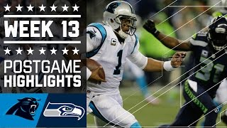 getlinkyoutube.com-Panthers vs. Seahawks (Week 13) | Game Highlights | NFL