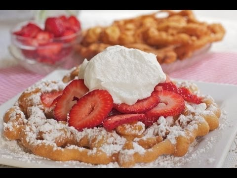 Easy Funnel Cake Recipe ~ Fair Favorites!
