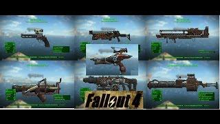 getlinkyoutube.com-Fallout 4 ТОП 7 Редкое и Легендарное Оружие