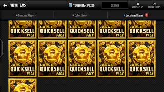 getlinkyoutube.com-Madden Mobile 16 12 Large Quicksell Pack Opening (3 Amazing Pulls) 1 Million?