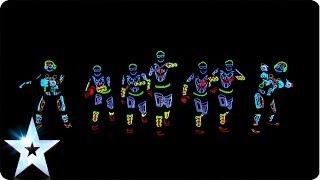 getlinkyoutube.com-Electro Techno Dance Act - Light Balance - Britain's Got Talent 2014