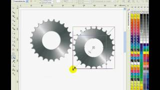 getlinkyoutube.com-TUTORIAL Corel Draw discos dentados 3D
