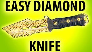 getlinkyoutube.com-BLACK OPS 3 - HOW TO GET EASY DIAMOND CAMO COMBAT KNIFE @ItsMikeyGaming