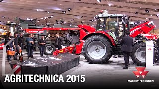 Massey Ferguson Hay and Forage Preview Agritechnica