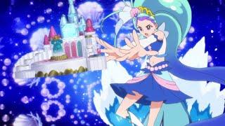 getlinkyoutube.com-Go! Princess Precure - Cure Mermaid Coral Maelstrom Scene
