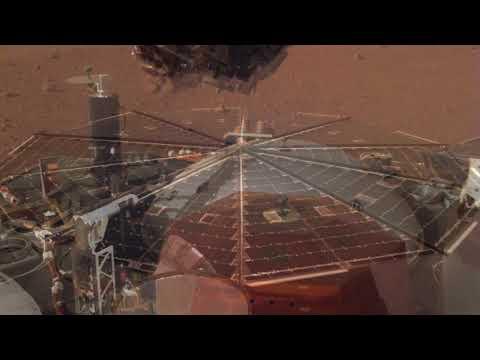 Зонд InSight передав звуки вітру на Марсі