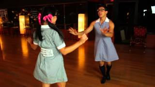 getlinkyoutube.com-Ballroom Dancing In A Dress