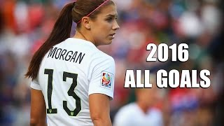 getlinkyoutube.com-Alex Morgan ● All Goals & Highlights● 2015/2016 HD