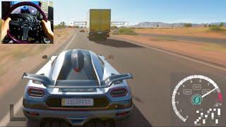 Forza Horizon 3 GoPro Top Speed Challenge!  V12 vs V8