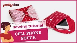 getlinkyoutube.com-cell phone pouch sewing video tutorial by pattydoo