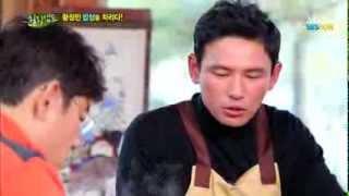 getlinkyoutube.com-SBS [힐링캠프] - 차려진 밥상에 숟가락은 그만, 황정민의 밥상 차리기!!