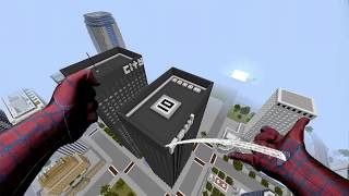 getlinkyoutube.com-REALISTIC MINECRAFT ~ SPIDERMAN SAVES SPIDERGIRL