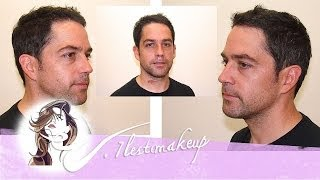 getlinkyoutube.com-Corte de pelo a tijera a caballero (Man hair cut)