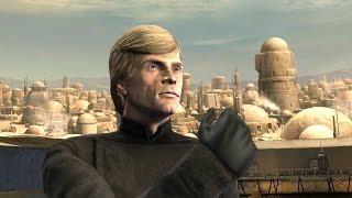 getlinkyoutube.com-Luke Skywalker vs. Obi Wan Kenobi  - Star Wars: The Force Unleashed: Ultimate Sith Edition