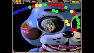 getlinkyoutube.com-FNAF IN ZUMA DELUXE 2! White Balls Turn Black Balls Stage 1