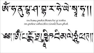 getlinkyoutube.com-Om Hanu Pasha Bhara He Ye Svaha / Om Padmo Ushnisha Vimale Hum Phat
