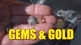 getlinkyoutube.com-Gem and Gold Hunting - Prospecting for Gold