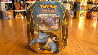 getlinkyoutube.com-Pokemon Blastoise EX Tin Opening