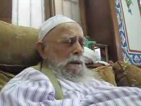 Sheikh Nazim's Message To Sufi Mureeds In Uk-12.07.08