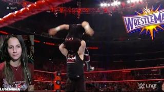 getlinkyoutube.com-WWE Raw 2/20/17 Sami Zayn vs KO