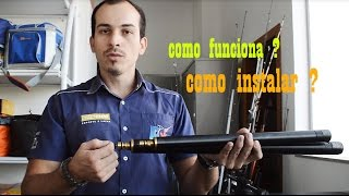getlinkyoutube.com-Válvula Reguladora de Pressão Carabina PCP BT65 / AT 44