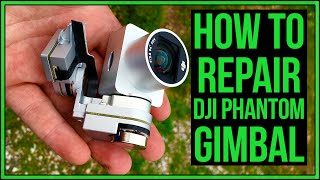 getlinkyoutube.com-DJI Phantom 3 Broken Gimbal Repair After Crash #Drone