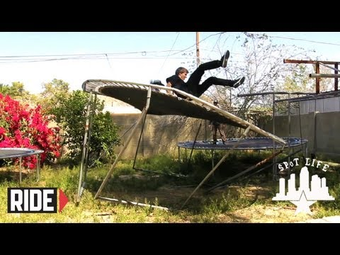 Trampoline Fail at Jaws' House and Phoenix Ditch/Park Skating: SPoT Life Episode 9