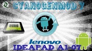 getlinkyoutube.com-Como Instalar ROM Cyanogenmod 7 En tablet Ideapad A1-07| ANDROID 2.3  LENOVO