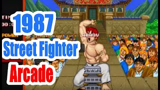 getlinkyoutube.com-1987 Street Fighter Arcade Old School Game Playthrough Retro game