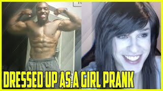 getlinkyoutube.com-Dressed Up As A Girl Prank On Chatroulette #2