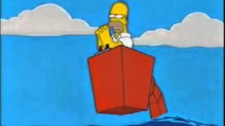 los Simpson - Salvame Superman.