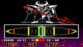 getlinkyoutube.com-Undertale - Asgore Boss Fight & Kill Only Bosses Ending