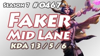 getlinkyoutube.com-SKT T1 Faker - LeBlanc vs Jayce - KR LOL Challenger 866LP | 페이커 르블랑