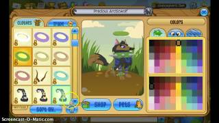 getlinkyoutube.com-Animal jam giveaway (party hat and rare spiked collar) [CLOSED]