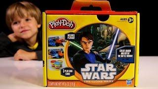 getlinkyoutube.com-New Play Doh Star Wars Toy